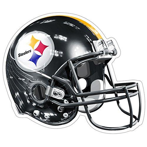 Brax NFL Pittsburgh Steelers logotipo de 3d Casco imán (paquete de 1)