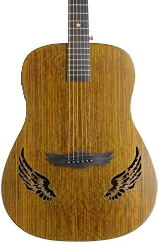 dreammaker eléctrico acústica guitarra dm-309ce Eagle alas: Amazon ...