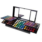 Cnlinkco Eyeshadow Palette Professional 180 Colors Eyeshadow Makeup Cosmetics Organizer Natural Nude Matte Shimmer Glitter Pigment Eyeshadow Palette Beauty Kit Set