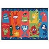 Carpets for Kids 36.03 Alphabet Monsters 3 ft. x 4.5 ft.