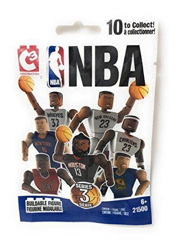 3662958792057 C3 Bridge Direct NBA 1 Buildable Figure Blind Bag (Series 3)