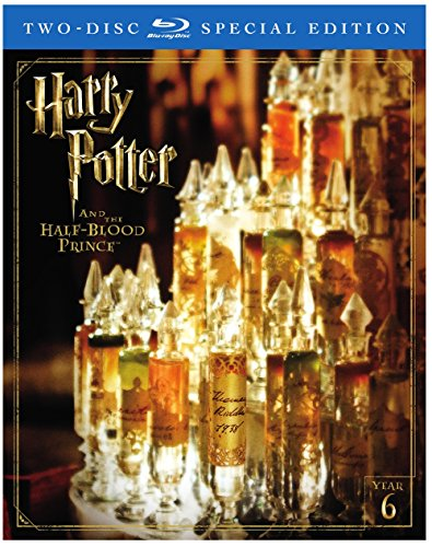 Harry Potter and the Half-Blood Prince (2-Disc Special Edition) [Blu-ray] (Cast Of Harry Potter Deathly Hallows 2)