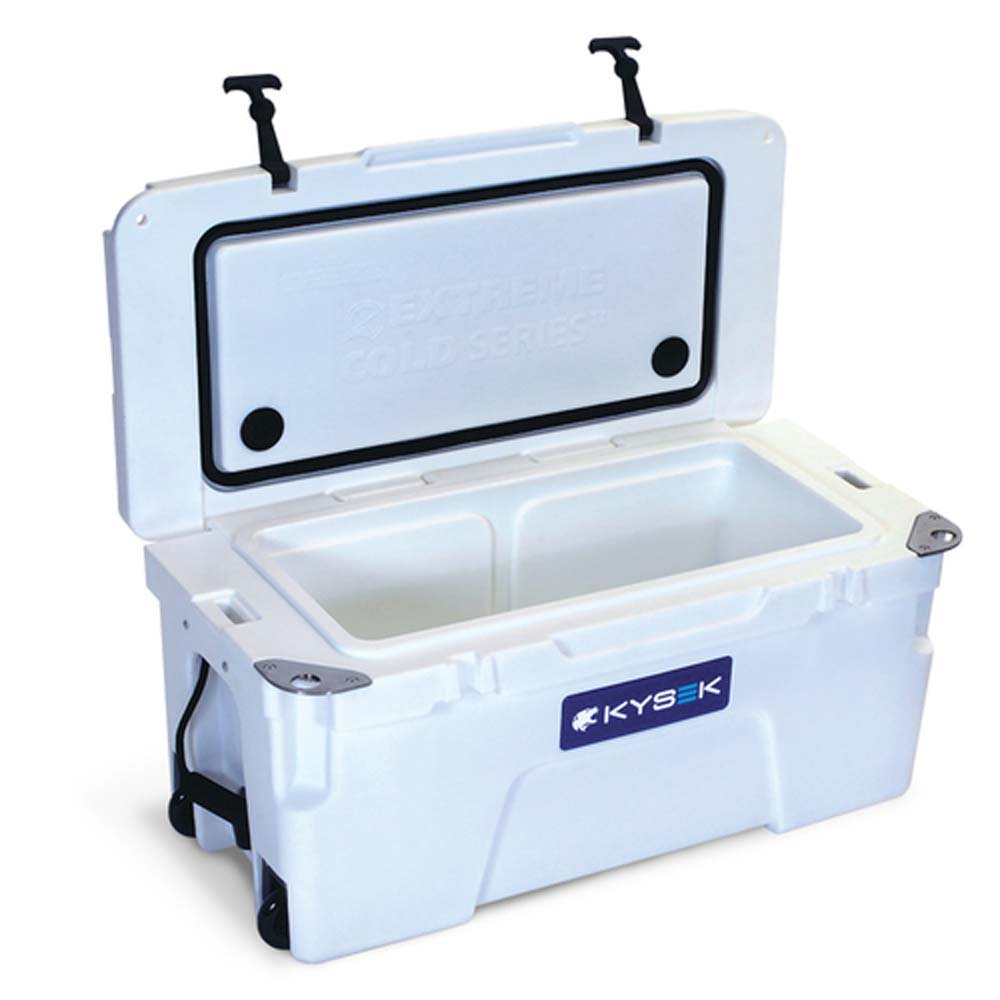 Kysek The Ultimate Ice Chest with Wheels 35 Liter Marine White Cooler