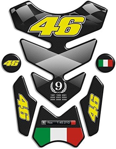 Tankpad Motorad Draht Muster Tankschutz Valentino Rossi 46 12 7x19 Polymer 3d Küche Haushalt