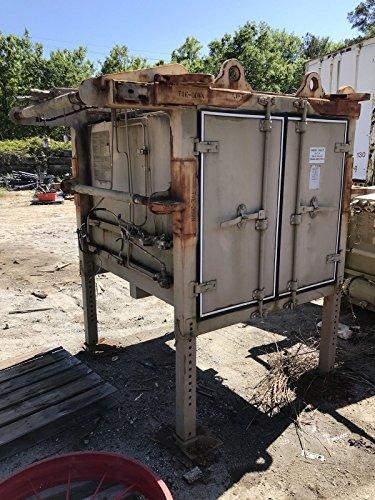 Pit Box Tool Wagon Jobsite Steel Construction Toolbox Tan Semi-Trailer CSI ()