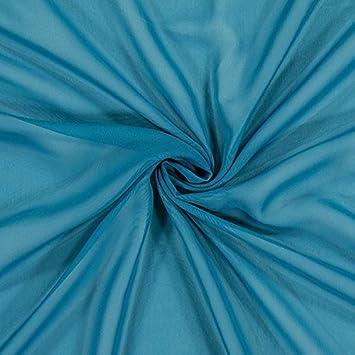 Fabulous Fabrics Chiffon Stoff Petrol – Weiches Chiffon zum Nähen von  Kleider, Blusen, Tücher 0505054dbe