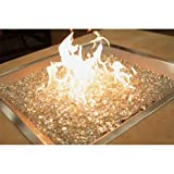 Cheap Stainless Steel Crystal Fire Burner Square