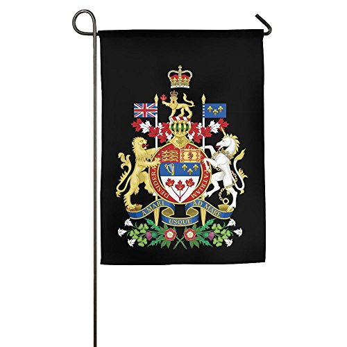Coat Arms Canada Garden Flag Indoor & Outdoor Decorative Flags For Parade Sports Game Family Party Wall Banner,1827inch