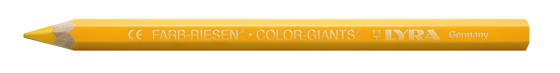 LYRA Color-Giants Colored Pencils, Lacquered, 6.25 Millimeter Cores, Set of 18 Pencils, Assorted Colors (3941181) by Lyra (Image #3)