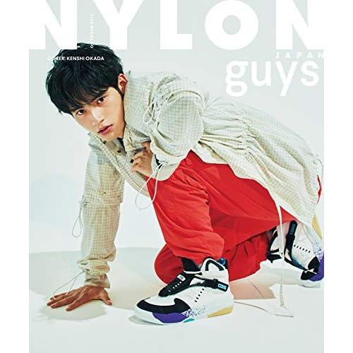 NYLON JAPAN guys 2019年10月号 表紙画像