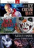 Ice Cream Man / Jack Frost 2 / Killer Tongue - Triple Feature
