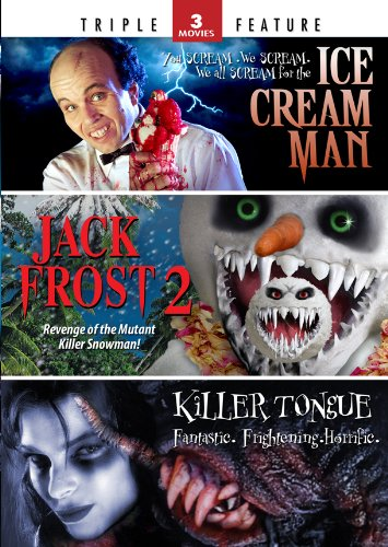 Ice Cream Man / Jack Frost 2 / Killer Tongue - Triple Feature by Mill Creek Entertainment
