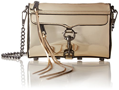 Size Gold One Body Cross Minkoff Women's Mini Mac Rebecca Handbag Pale HaFRZq8