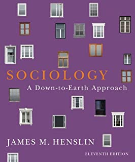 Amazon sociology a down to earth approach books a la carte sociology a down to earth approach 11th edition fandeluxe Image collections