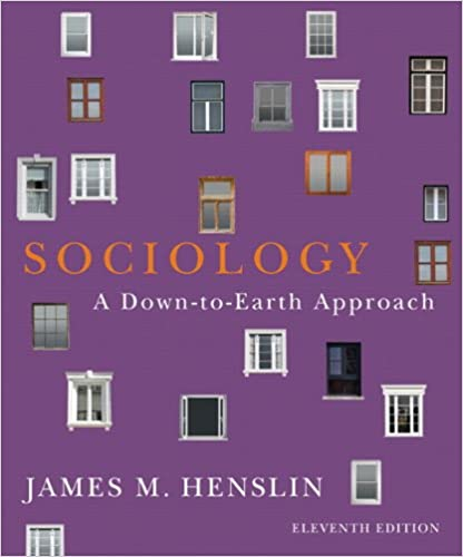 Amazon.com: Sociology: A Down-to-Earth Approach (11th Edition ...