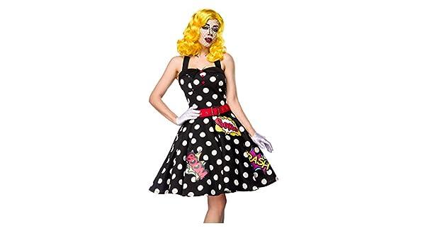 Pop Art Girl Set de Disfraz: Amazon.es: Ropa y accesorios