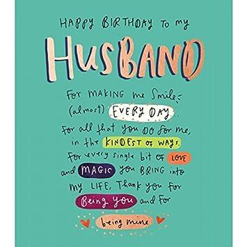 Grußkarte (pig9462) – Geburtstag – Ehemann Geburtstag – aus der