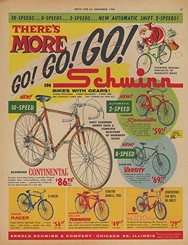 More Go! Schwinn Continental Speedster Pixie Tornado bicycle