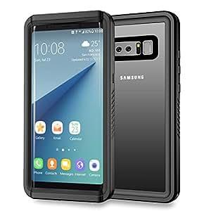 Waterproof Samsung Note 8 Case , Waterproof IP68 Certified and Full Body Sockproof Skin Protecto Cover