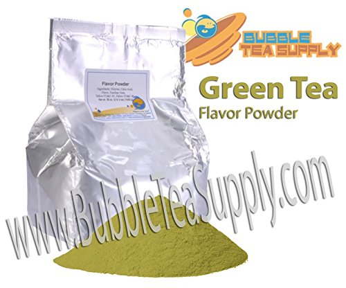 BEST-SELLING BUBBLE TEA SUPPLY MATCHA GREEN TEA SMOOTHIE FLAVORED POWDER BOBA BUBBLE DRINK PREMIUM AWARD WINNING CUSTOMERS #1 CHOICE 50 SERVINGS (MATCHA GREEN TEA BUBBLE TEA POWDER)