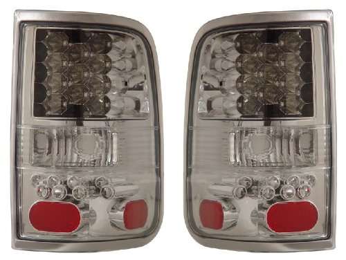 FORD F-150 04-06 LED TAIL LIGHT ALL CHROME NEW