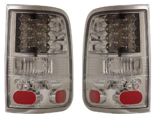 FORD F-150 04-06 LED TAIL LIGHT ALL CHROME NEW