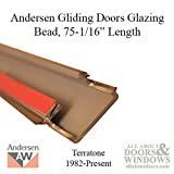Andersen - Perma-Shield Gliding Doors Glazing Bead, PSPD 1 Stiles, PS68, 1982-Present - Terratone