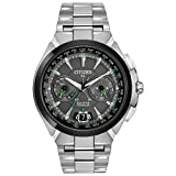Citizen Men's CC1084-63E Satellite Wave Analog Display Japanese Quartz Silver Watch