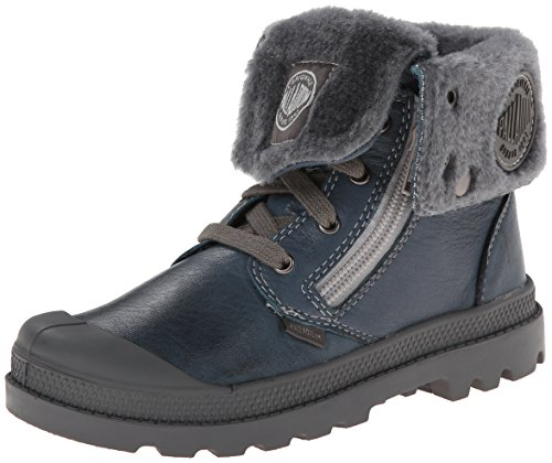 Palladium Baggy Leather S Boot (Toddler/Little Kid/Big Kid),Nordic Blue,5 M US Toddler - Nordic Kids Boots