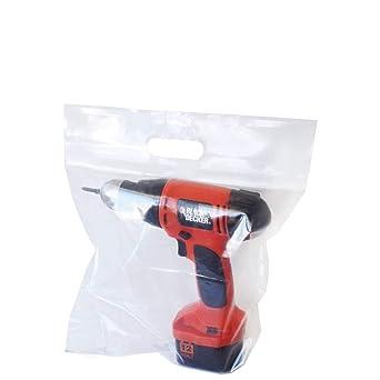 Amazon.com: APQ - 100 bolsas con cierre de cremallera, 9 x ...