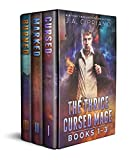 download ebook the thrice cursed mage: volumes 1-3: cursed, marked, and burned: an urban fantasy series pdf epub
