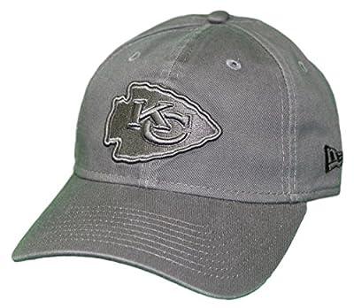 New Era Kansas City Chiefs NFL 9Twenty Classic Tonal Adjustable Graphite Hat from New Era