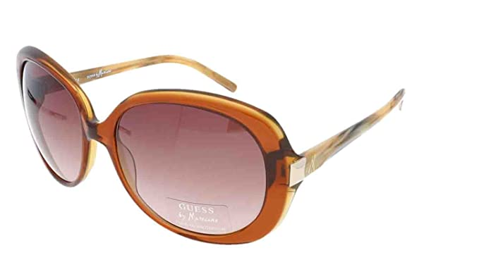 07872c72b37 GUESS by MARCIANO GM 620 CYBRN-34 Ladies Designer Sunglasses + Case