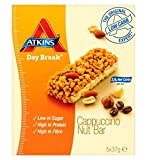 Atkins Day Break Nut Cappucino 5 X 37G Bars - Pack of 2