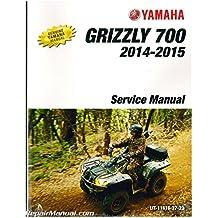 LIT-11616-27-23 2014 - 2015 Yamaha YFM700 Grizzly Utility ATV Service Manual