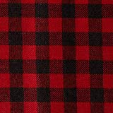 "Homeford FKT0000RTD16R926 Plaid Checkered Christmas Felt Roll, 14"", Red/Black"