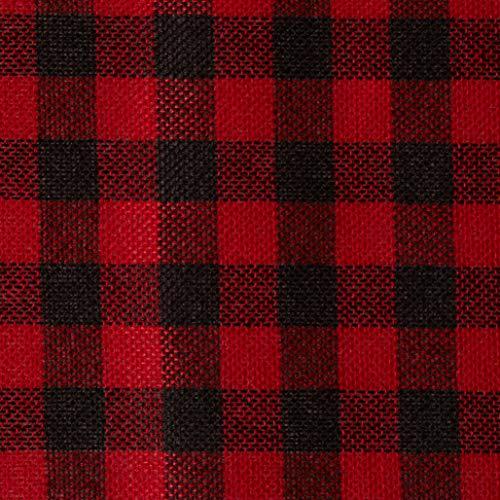 (Homeford FKT0000RTD16R926 Plaid Checkered Christmas Felt Roll, 14