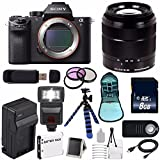 Sony Alpha a7R II Mirrorless Digital Camera (International Model no Warranty) + Sony E-Mount SEL 1855 18-55mm Zoom Lens (Black) + 49mm 3 Piece Filter Kit 6AVE Bundle 5
