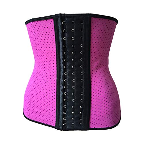 Women Waist Trainer,Spiral Steel Boned Bustiers Underbust Corsets Waist Cincher ()