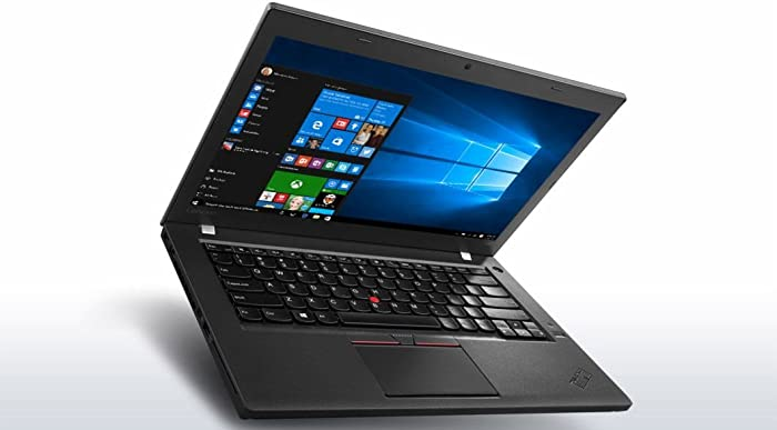Lenovo T460s Ultrabook 20FA (14in FHD, Intel i5-6300U 2.4GHz, 8GB RAM, 256GB SSD, 720p Camera, Fingerprint Reader, Backlit Keyboard, Windows 10 Pro 64) (Renewed)