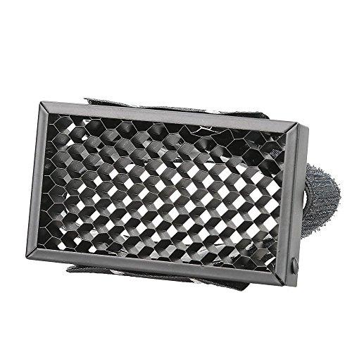 Spot Grid - Godox HC-01 Honeycomb Grid Spot Filter Compatible Canon Nikon Sony Fuji Olympus Camera Flash Speedlite (Universal Design)