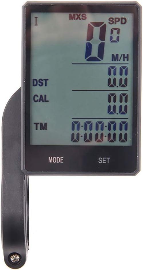 Cuentakilómetros para Bicicleta Cronómetro impermeable de ...