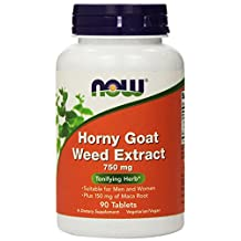 Now Foods, Horny Goat Weed Extract 750 mg 90 Tablets