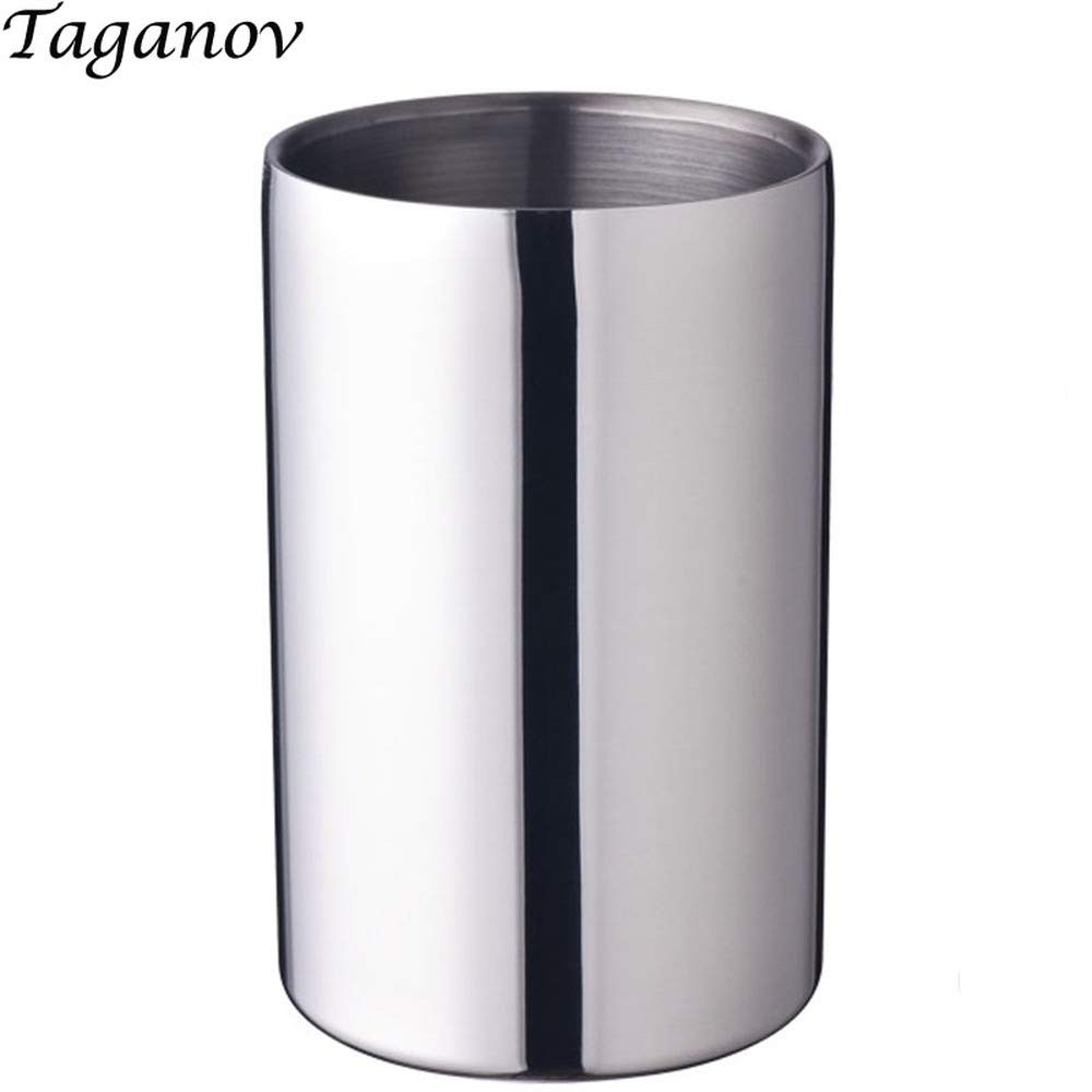 Stainless steel ice bucket Hotel Bar KTV for whisky beer wine chiller 1600 ml portable champagne cooler buckets