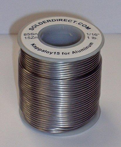KappAloy15 Aluminum Solder 1/16'' diameter (large)