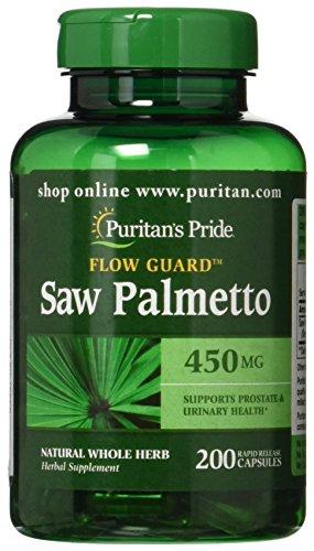 Puritans Pride Palmetto mg 200 Capsules