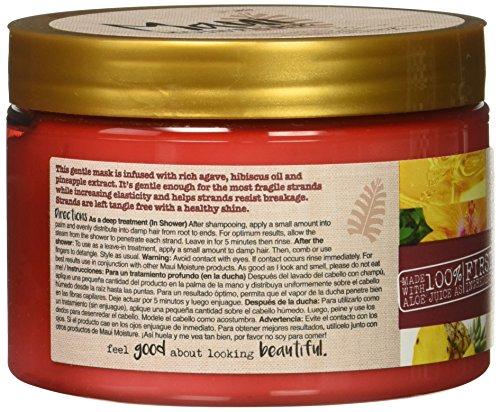 51eO8zDUSVL Maui Moisture Strength & Anti-Breakage + Agave Nectar Hair Mask, 12 Ounce