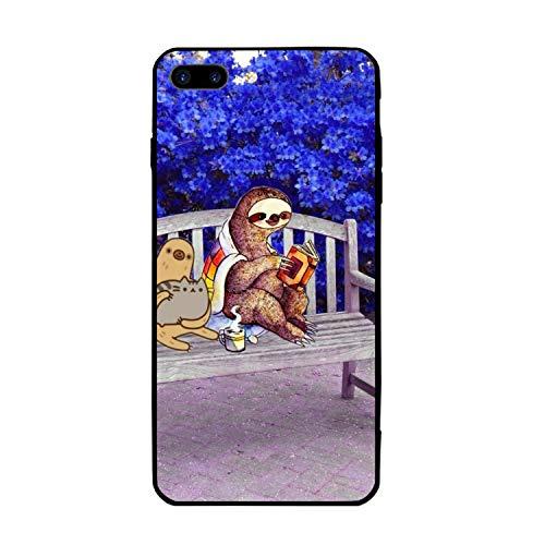 iPhone 8 Plus / 7 Plus case Hard PC Cover Compatible for Both iPhone 7 Plus & 8 Plus Garden Sloth