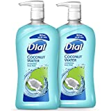 Dial Body Wash, Coconut Water, 32 Ounces (Pack of 2)