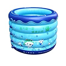 POTA Swimming Pool For Baby Trinuclear Inflatable Pool Piscina Inflavel Newborn Portable Outdoor Children Basin Bathtub For Infant